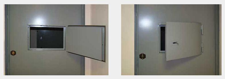 Дверь стальная для выдачи