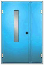 клинские стальные двери с армированным стеклом