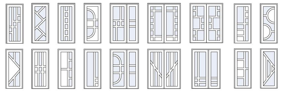 Каталог армированных дверей