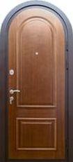 стальные двери под заказ с аркой