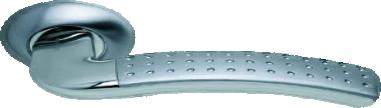 ручки дверные никель для стальной двери под заказ