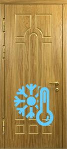 дверь с резьбой с трморазрывом купить