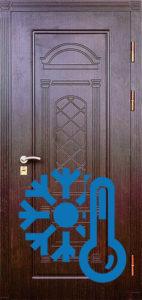 двери экошпон с резьбой +терморазрыв