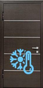 дверь уличная молдинг+терморазрыв