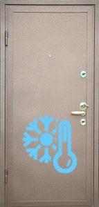порошковая дверь с терморазрывом