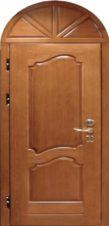 металлические двери арочные в мдф