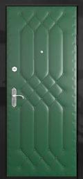 образец двери виилискожа зеленый