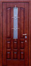 двери в дом шпон стекло под заказ