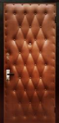 двери в дермантин в хоз. помещения