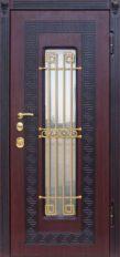 стальные двери + стеклопакет от производителя