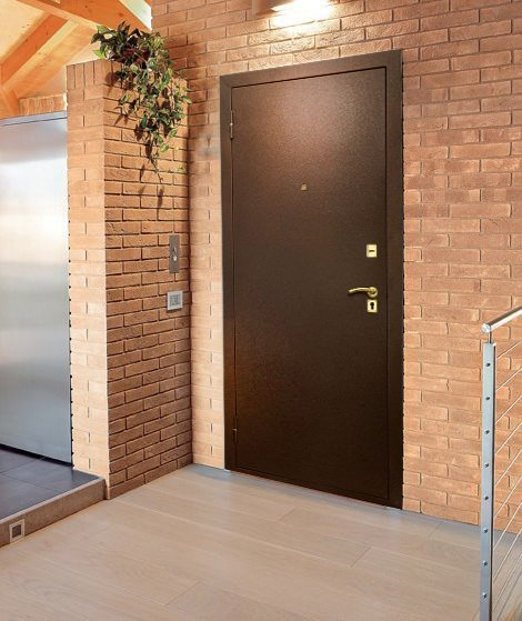 двери порошковое напыление