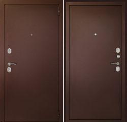 дверь в квартиру цельногнутая в порошке