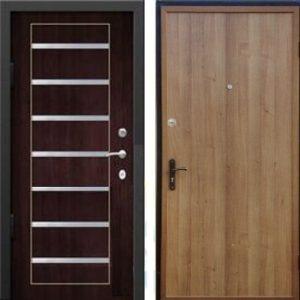 металлические квартирные двери молдинг под заказ