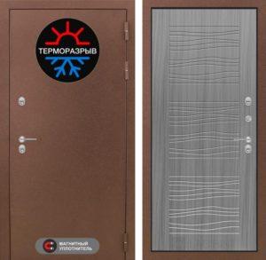 дверь входная в порошке+терморазрыв