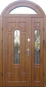 двери арочные +для загородного дома входные