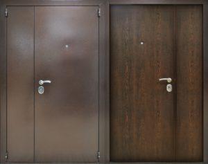 тамбурные металлические входные двери недорого