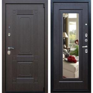 дверь входная +с зеркалом внутри