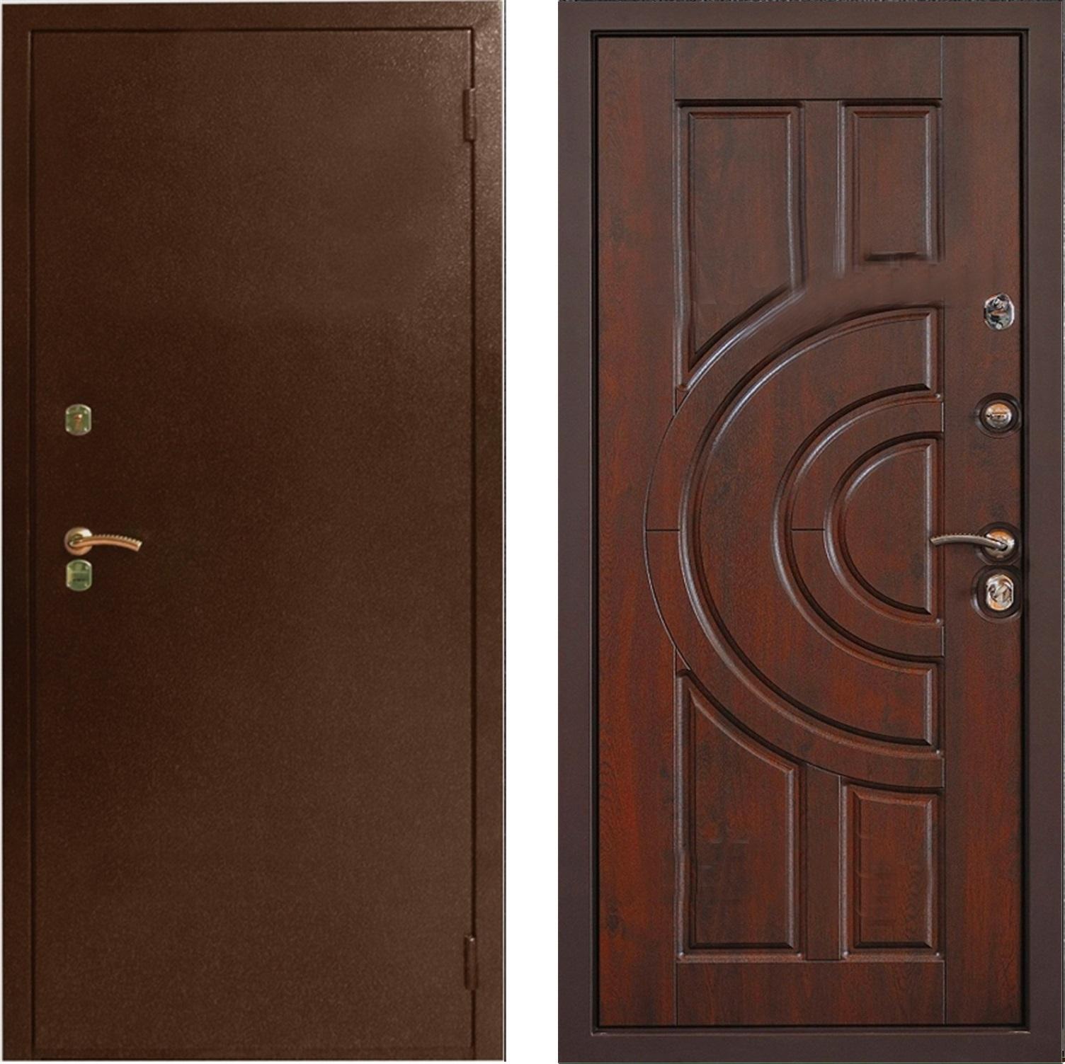 дверь входная в порошке от производителя
