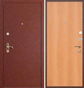 двери мталличесие ламинированые+порошок