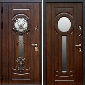двери стекло+ковка Долгопрудный