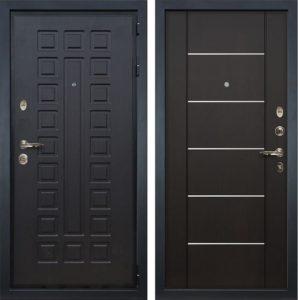 входные двери мдф с молдингом под заказ