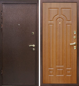 двери металлические мдф с фрезой