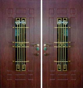 двери+ с элементами ковки