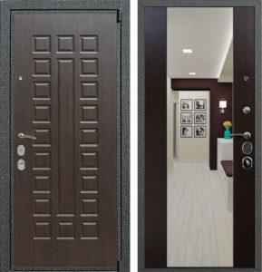 стальные двери с зеркалом от производителя