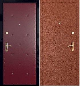 двери с отделкой порошок+винил под заказ