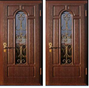 дверь входная+стекло купить