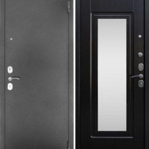 дверь входная металлическая +с зеркалом
