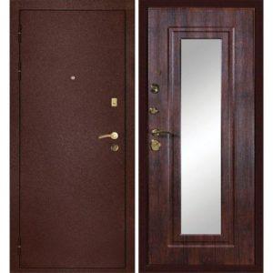 стальные зеркальные двери под заказ