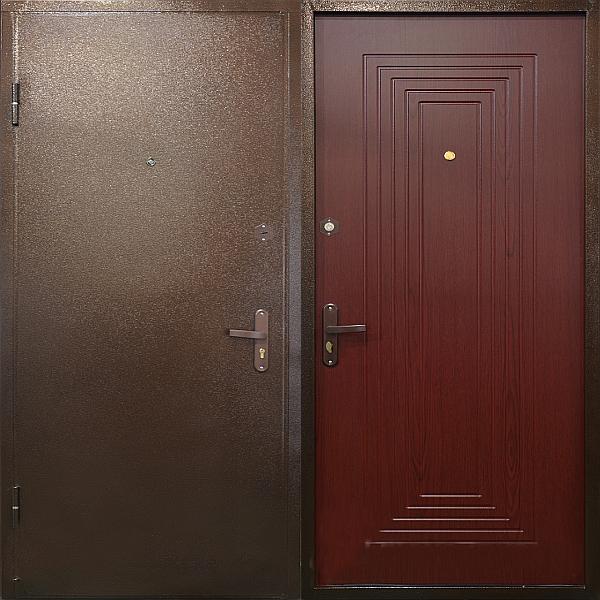 дверь входная в порошке