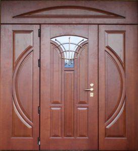 парадные двери в Мдф под заказ