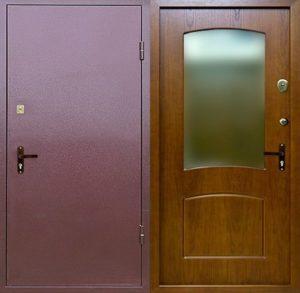 входные двери +в квартиру +с зеркалом