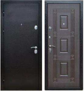 установка входных дверей мдф