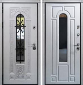 двери входные металлические+с ковкой