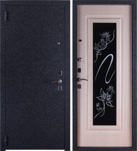 входные металличесие двери зеркальные