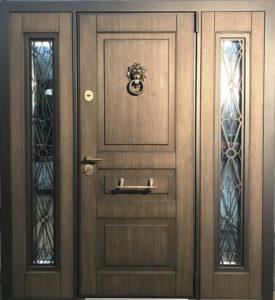 двери входные с боовыми вставками под заказ