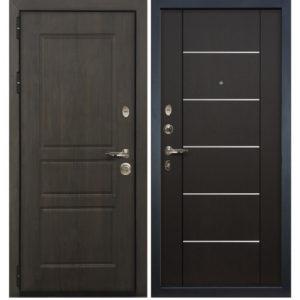 железные двери мдф с молдингом с установкой
