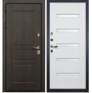 железные двери с Мдф+молдинг