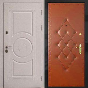 дверь входная белый Мдф+винил купить