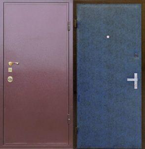 дверь железная порошок+винилискожа