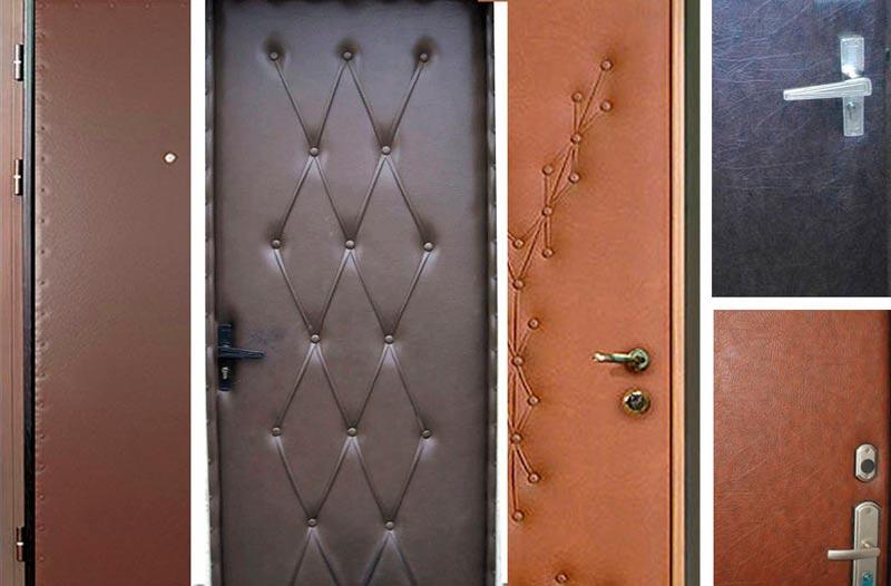 двери входные с винилискожей под заказ