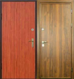 металличесие двери ламинат +порошковое напыление