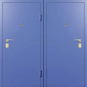 металличесая дверь двойной мталл в порошке