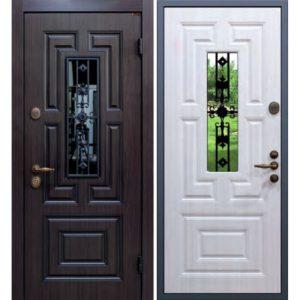 дверь металлическая +стеклопакет
