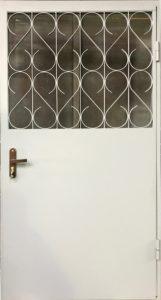 дверь решетчатая в тамбур