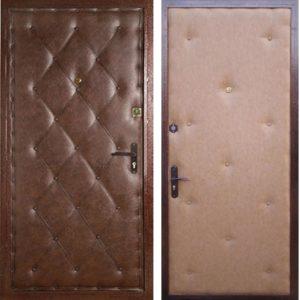 двери заводские с отделҡой винилискожа