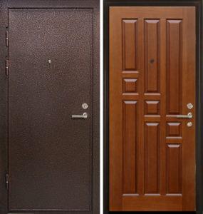 двери стальные в порошке от производителя
